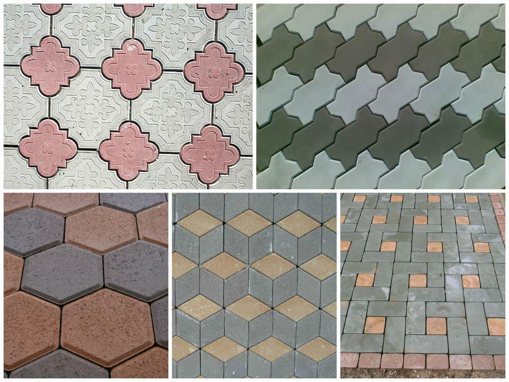 Раскладка плитки схемы