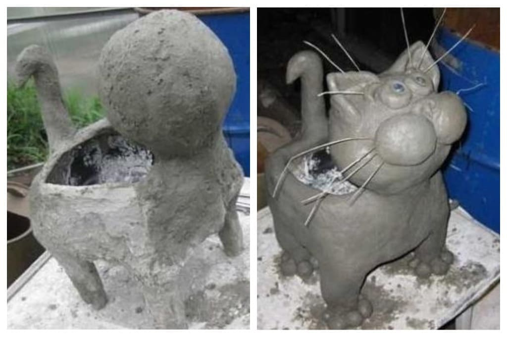 Садовый кот (Шаг 2)
