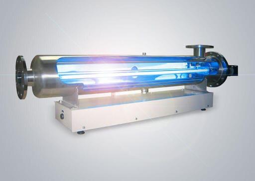 Ультрафиолетовый фильтр в разрезе