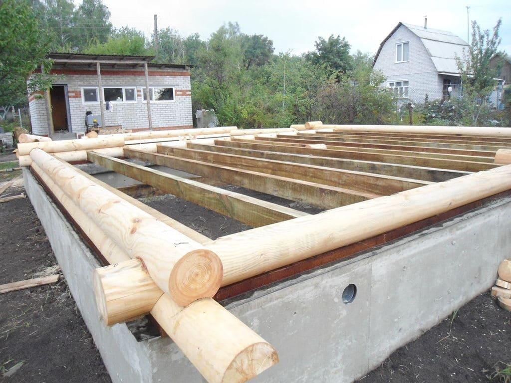 Фундамент для бани 2
